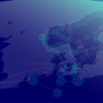 GlobalConnect Network map